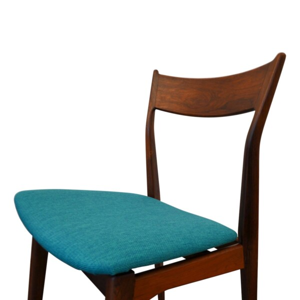 Vintage Rosewood Dining Chairs - side