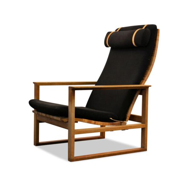 Vintage Børge Mogensen eiken fauteuil, model 2254