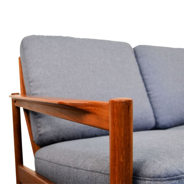 Vintage Three Seater Sofa by Kai Kristiansen - detail