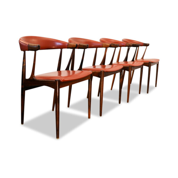 Vintage Dining Chairs by Johannes Andersen
