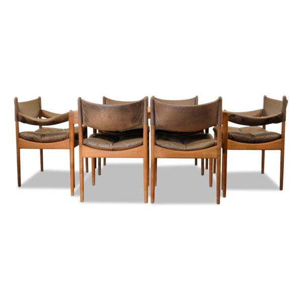 Vintage Dining Set Designed by Kristian Vedel