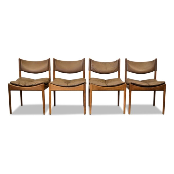 Vintage Dining Chairs Designed by Kristian Vedel