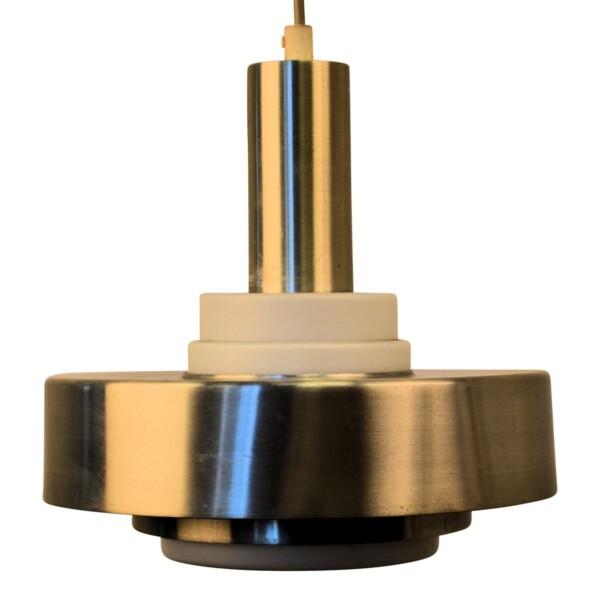 Vintage Danish Aluminum Ceiling Lamp