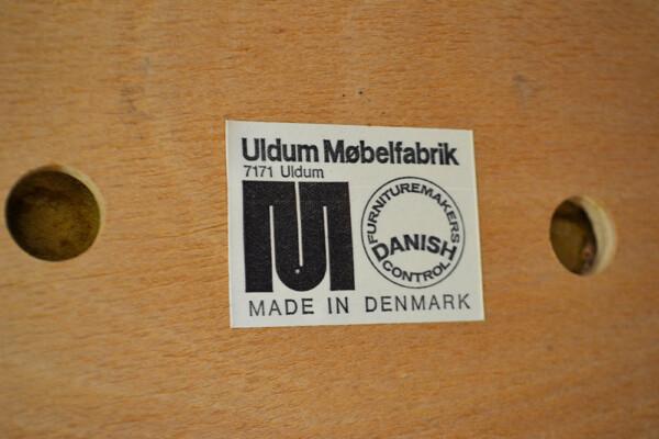 Vintage Rosewood Dining Chairs by Johannes Andersen - branding Uldum Møbelfabrik