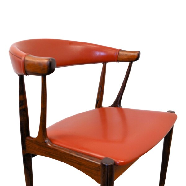 Vintage Dining Chairs by Johannes Andersen - detail