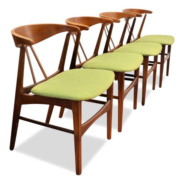 Vintage Danish Teak/Oak Dining Chairs
