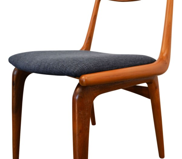 Vintage Alfred Christensen model #370 Boomerang Chairs - detail