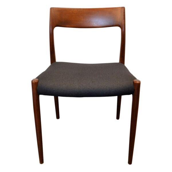 Vintage Niels O. Møller model #77 Dining Chair