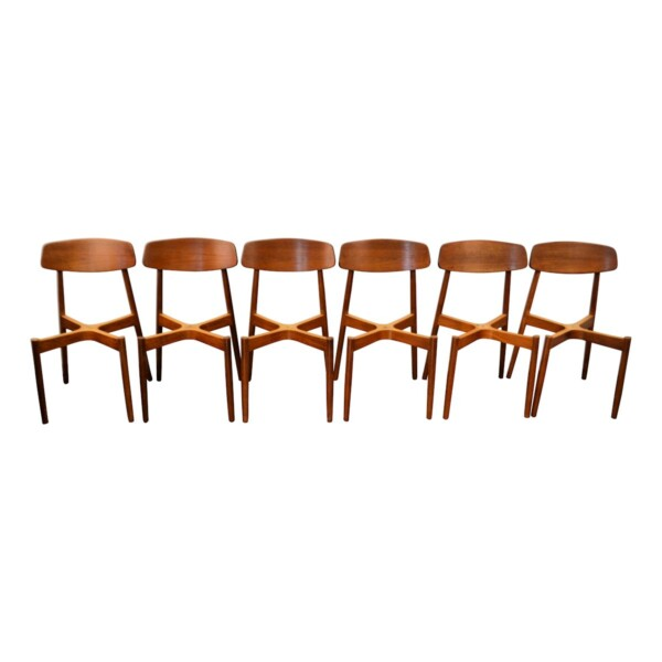 Vintage Harry Østergaard Dining Chairs - frames