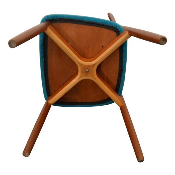 Vintage Harry Østergaard Dining Chairs - bottom