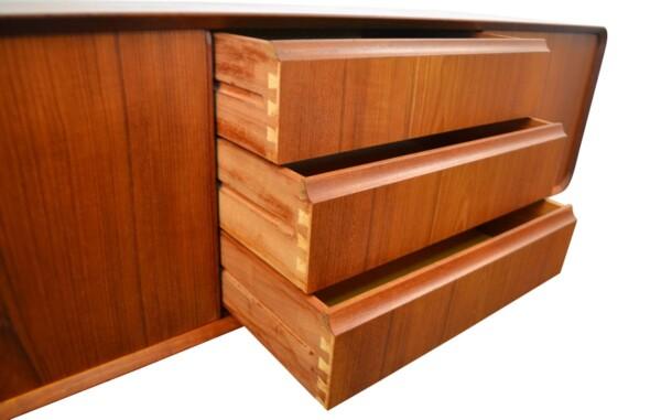 Vintage Teak Sideboard - drawers