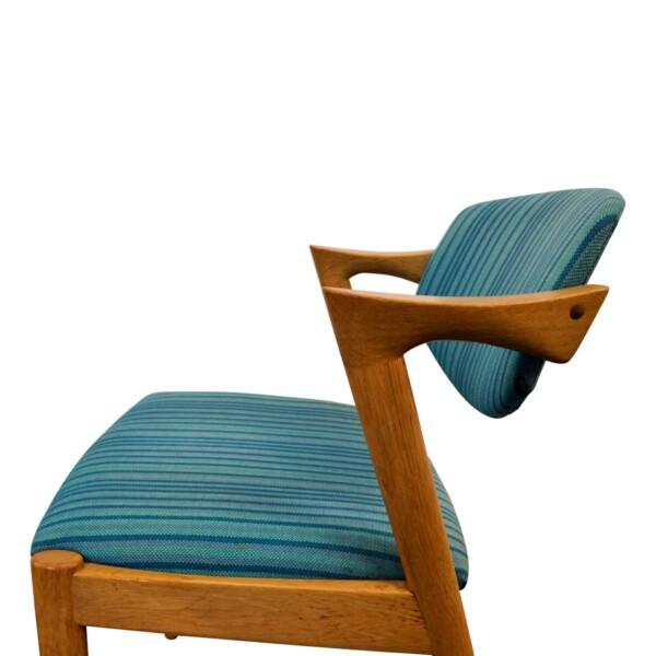 Vintage Kai Kristiansen Model #42 Dining Chairs - detail