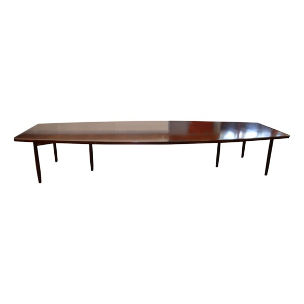 Vintage Rosewood Dining/Conference Table by Arne Vodder