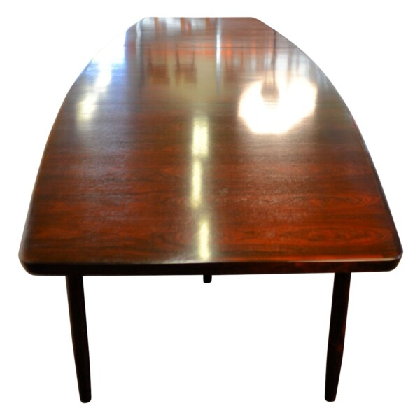 Vintage Rosewood Dining/Conference Table by Arne Vodder - top