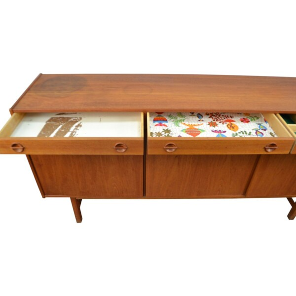 Vintage Teak Tage Olofsson Sideboard - drawer