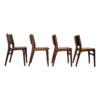 Vintage Teak Erik Buch Dining Chairs - side
