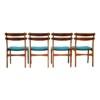 Vintage Dining Chairs by Slagelse Møbelvaerk - back