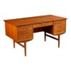 Vintage Deens design teak bureau