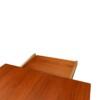 """Vintage Alfred Christensen """"Boomerang"""" eettafel (detail)"""