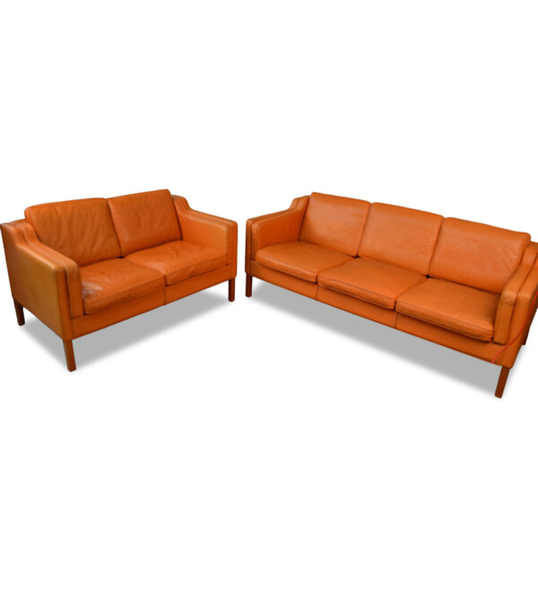 Vintage Borgen Mogensen Style Seating Group by Stouby
