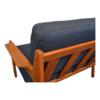 Stunning vintage teak sofa designed by Danish designer Arne Wahl Iversen for Komfort.