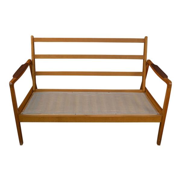 Vintage Teak Sofa by Svegards Markaryd- frame