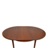 Vintage Teak Danish Style Dining Set - table extended