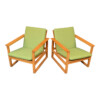 Vintage Børge Mogensen Model 2256 Lounge Chairs