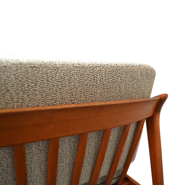 Vintage Teak Sofa by Folke Ohlsson - detail