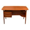 Vintage Teak Desk by Tibergaard