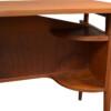 Vintage Teak Desk by Tibergaard - detail