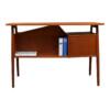 Vintage Teak Desk by Tibergaard - back