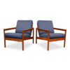 Vintage Danish Lounge Chairs by Kai Kristiansen