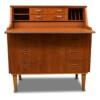 Vintage Danish Style Teak Secretaire Desk