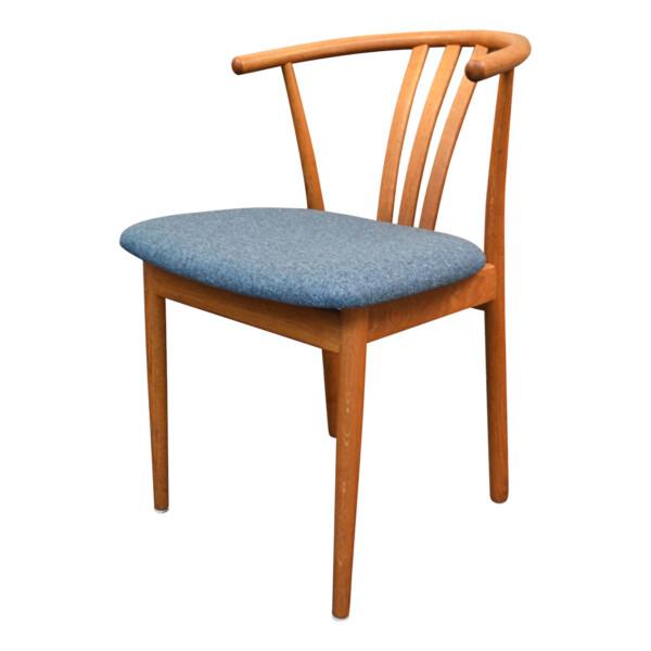 Vintage Danish Hans J. Wegner Style Dining Chair