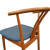Vintage Danish Hans J. Wegner Style Dining Chair - detail