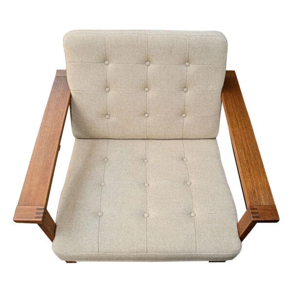 Vintage Danish Modular Seating Group Designed by Ole Gjerlov-Knudsen and Torben Lind - detail