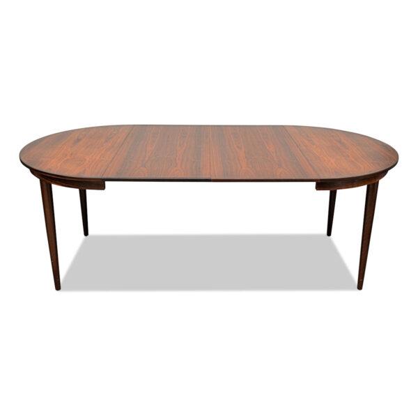 Vintage Teak Danish Dining Table by Skovmand & Andersen - extended