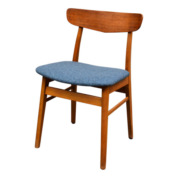 Vintage Teak/Beech Findahls Dining Chairs