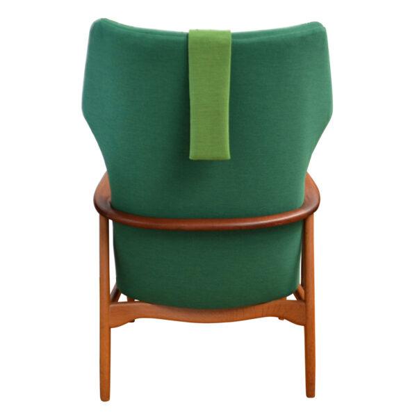 Vintage Aksel Bender Madsen Lounge Chair - back