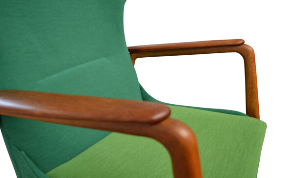 Vintage Aksel Bender Madsen Lounge Chair - detail