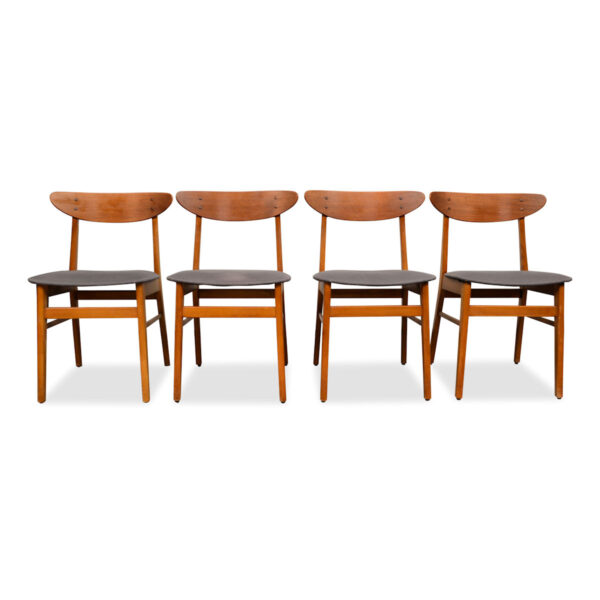 Vintage Teak Farstrup Dining Chairs