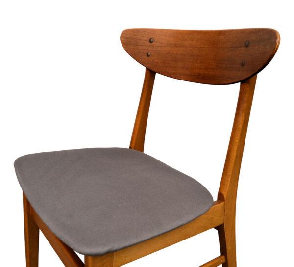 Vintage Teak Farstrup Dining Chairs - detail